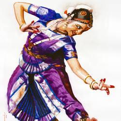 Classical Dancer 05 size - 20x25In - 20x25