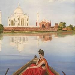 Taj Mahal  size - 18x24In - 18x24
