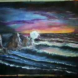 The Wave size - 30x24In - 30x24