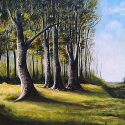 The Trees size - 42x32In - 42x32