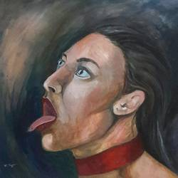 Portrait of Provocation size - 16x14In - 16x14