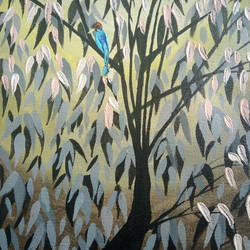 Woodpecker  size - 9x12In - 9x12