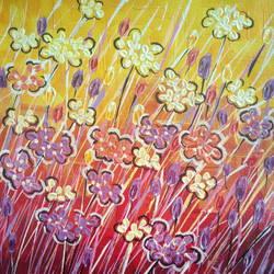 Wild Flowers size - 8x10In - 8x10