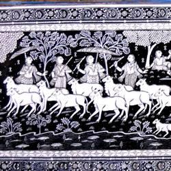 Krishna as Guala size - 40x18In - 40x18
