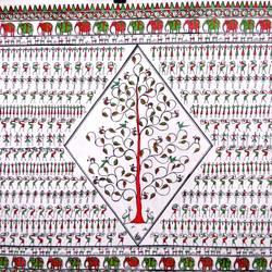 Tribal Miniature size - 40x24In - 40x24