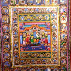 Krishna Rasleela , Story and Dasavatar size - 32x48In - 32x48