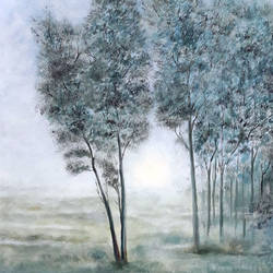 Misty Morning size - 24x36In - 24x36
