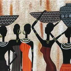Tribal Ladies size - 36x24In - 36x24