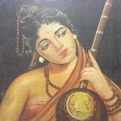 Meera and Krishna soul love size - 24 x15In - 24 x15