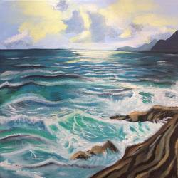 Sea size - 12x12In - 12x12