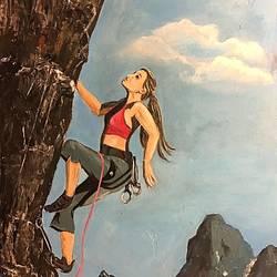 Mountain Climbing  size - 11x8.5In - 11x8.5
