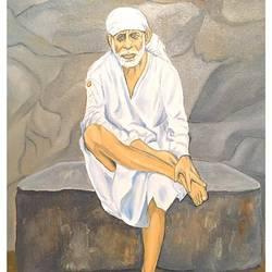 Sainath Maharaj size - 16x20In - 16x20