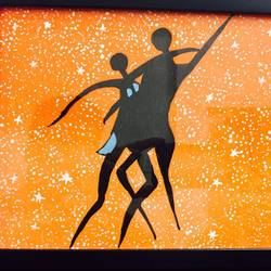 Couple dance size - 9x12In - 9x12
