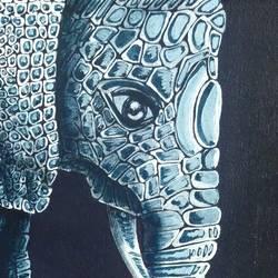Elephant 2 Motherhood size - 12x12In - 12x12