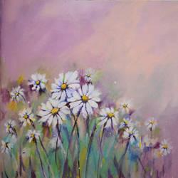 Mystic Florals II size - 18x14In - 18x14