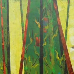 colour of Indian forest 2 size - 36x48In - 36x48