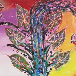 colour of Indian forest 5 size - 24x36In - 24x36