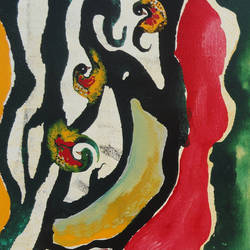 colour of Indian forest 11 size - 24x36In - 24x36