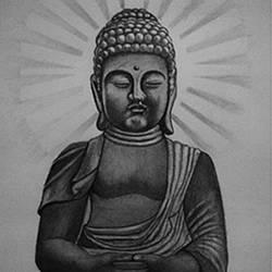 Sri Gautam Buuddha size - 10x15In - 10x15