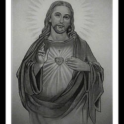 Son of God Jesus Christ size - 10x14In - 10x14