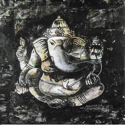 Ganesha size - 12x18In - 12x18