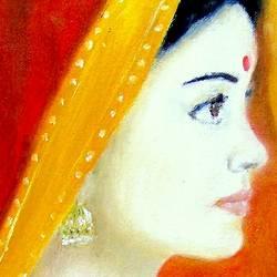 Rani Padmini-Woman Empowerment size - 10.5x12.5In - 10.5x12.5
