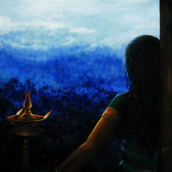 The Evening Prayer size - 30x20In - 30x20
