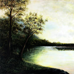 After the Summer rains size - 45x30In - 45x30