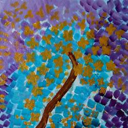 THE GOLDEN TREE size - 10x12In - 10x12
