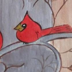 THE BIRDS size - 12x16In - 12x16