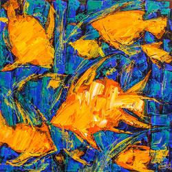 Flow of Dreams 8 size - 18x18In - 18x18