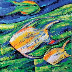 Flow of Dreams 12 size - 18x18In - 18x18