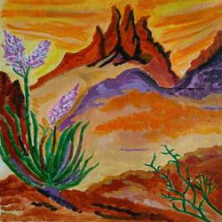 THE ROCK FLOWERS size - 12x13In - 12x13