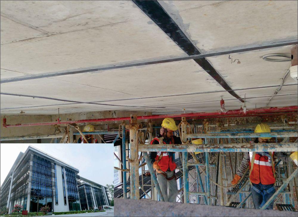 Structural Strengthening using Carbon Laminates