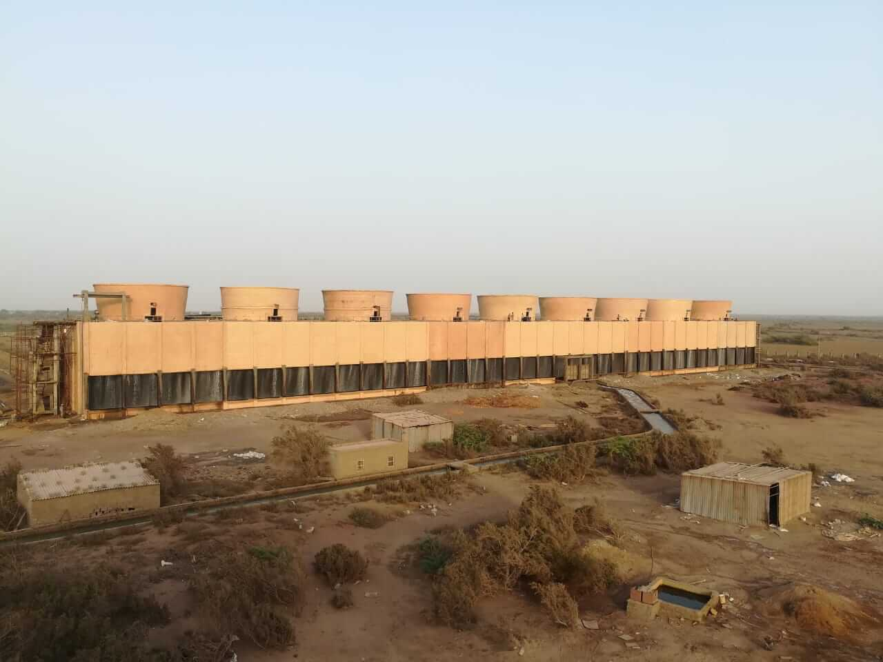 Structural Repair, Rehabilitation and Protective Coating of 2x125 Mw Cooling Towers