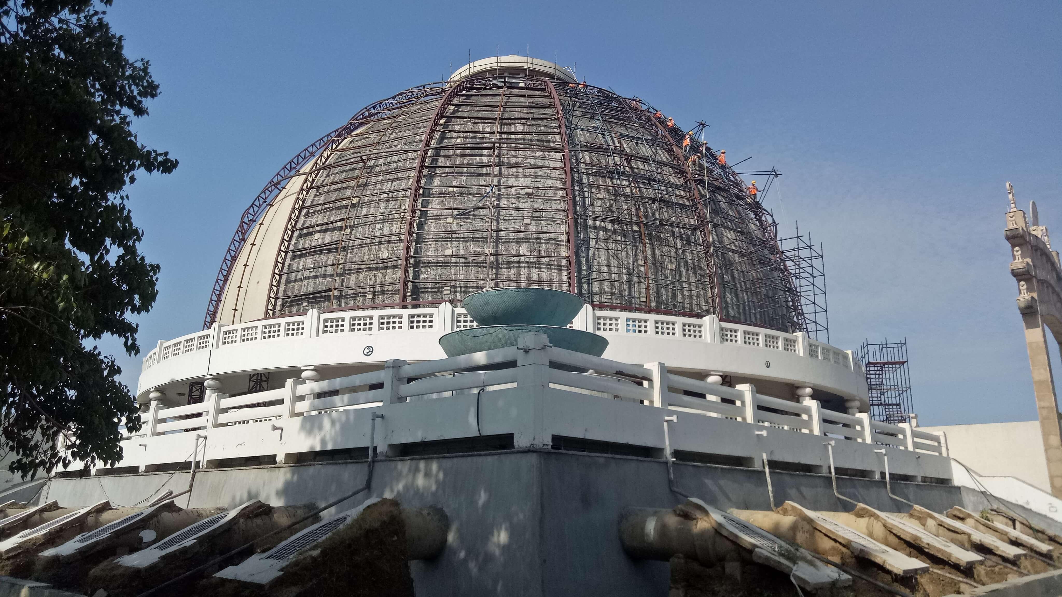 Repairs and Strengthening work of Deekshabhoomi Dome (STUPA)