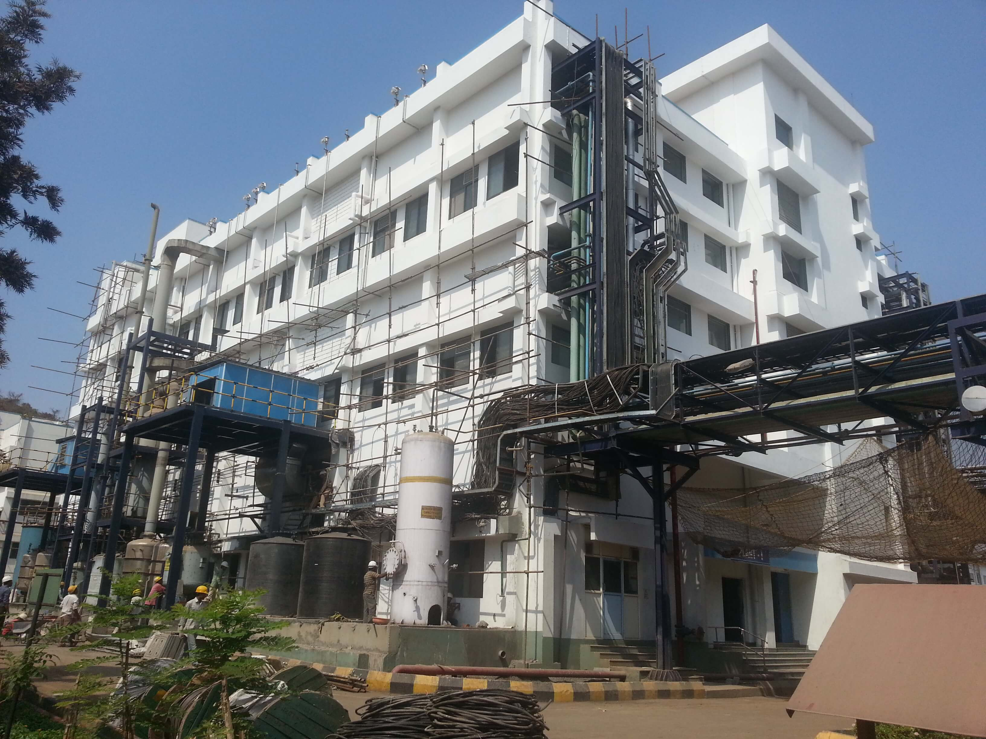 Structural Repair & Strengthening of Pharmaceutical Plant