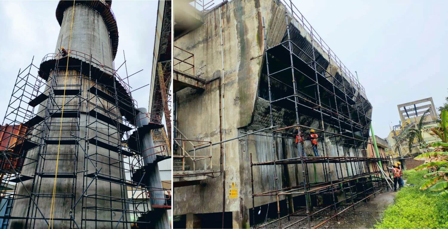 Repairs & Retrofitting of various structures in Smelter Plant