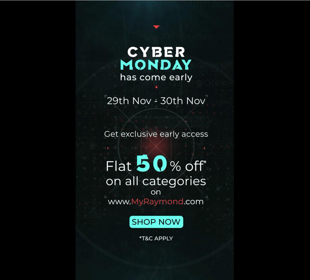 Raymond Video - Early Cyber Monday