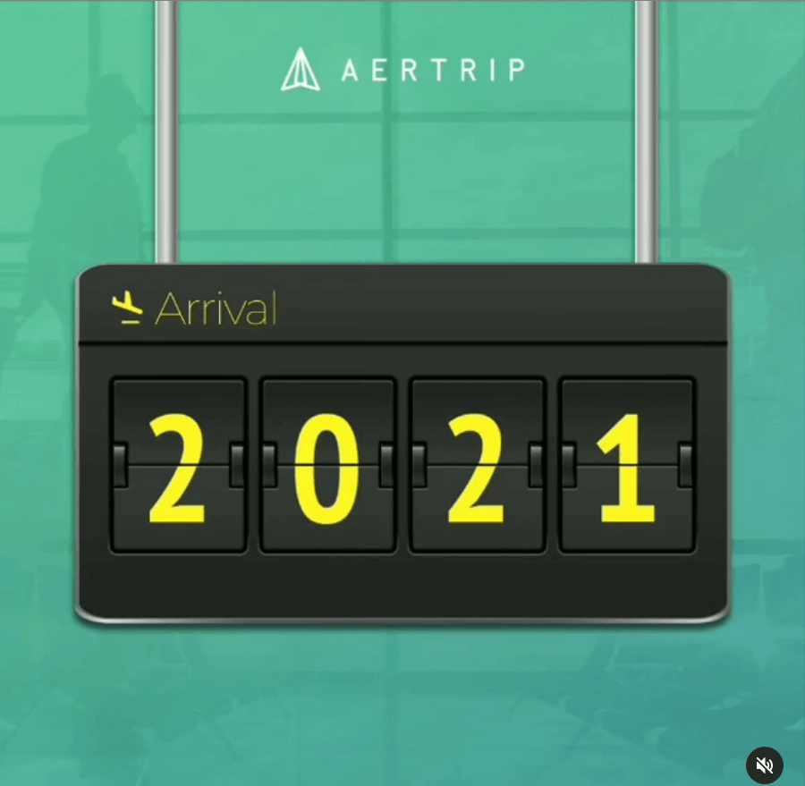Aertrip Video - New Year 2021