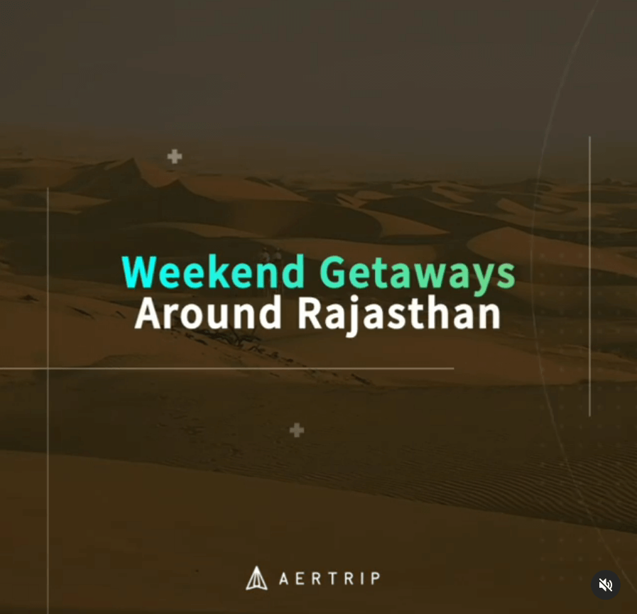 Aertrip Video - Rajasthan is the Perfect Place