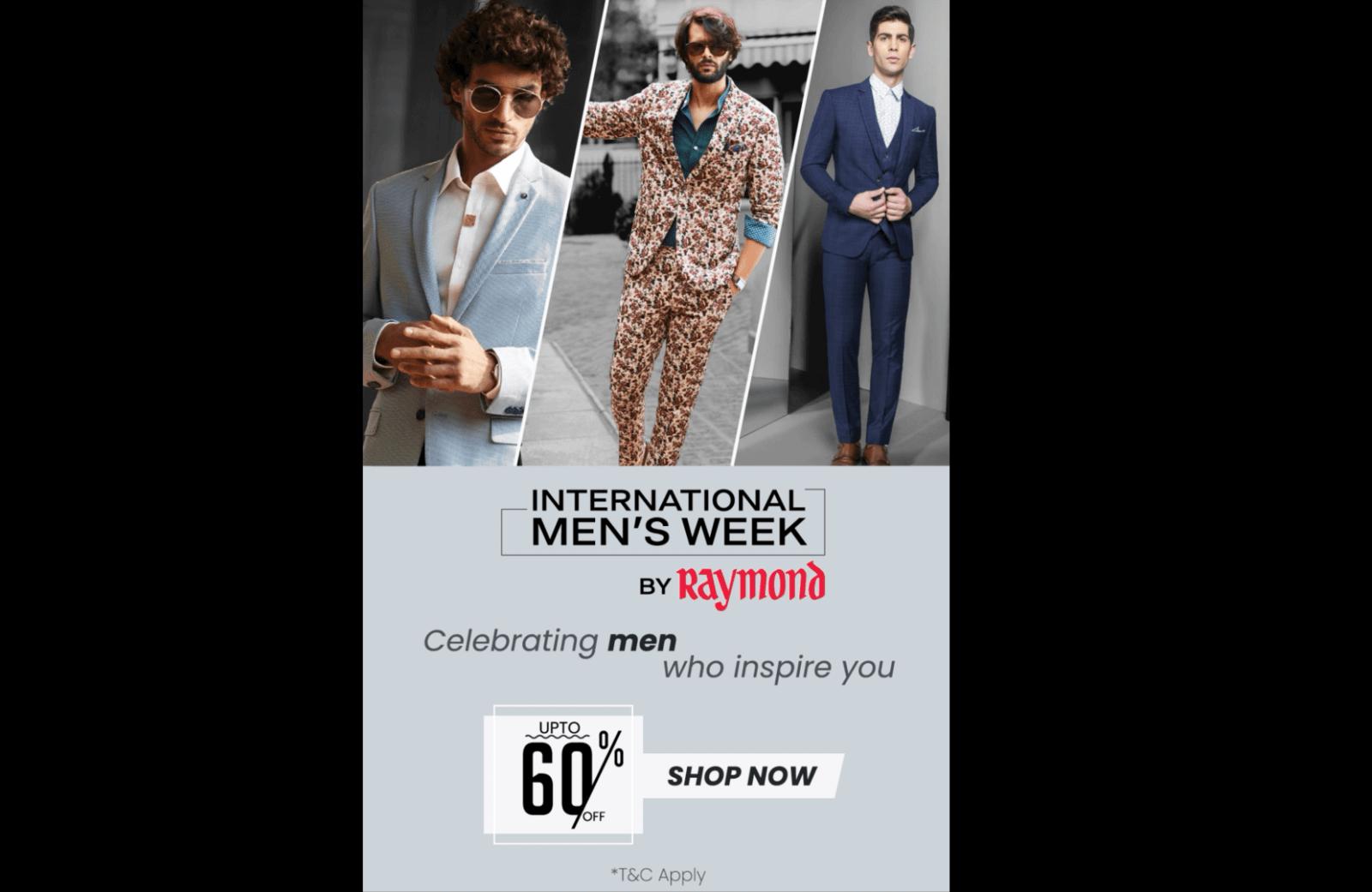 Raymond Video - Mens' Week Sale