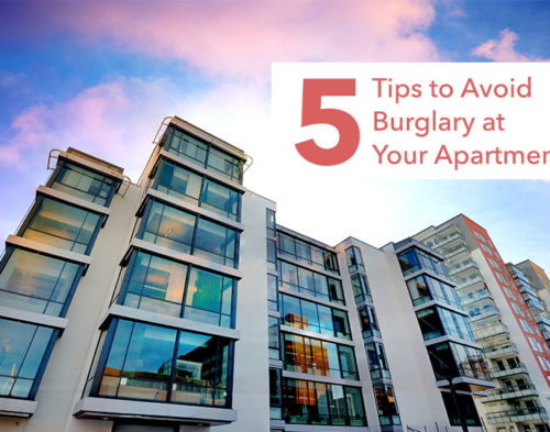 5 Tips To Avoid A Burglary At Your Apartment