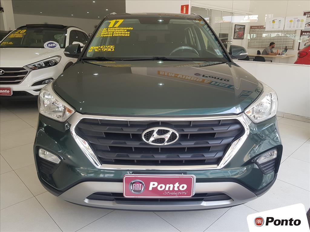 HYUNDAI CRETA 2017 - 1.6 16V FLEX PULSE AUTOMÁTICO