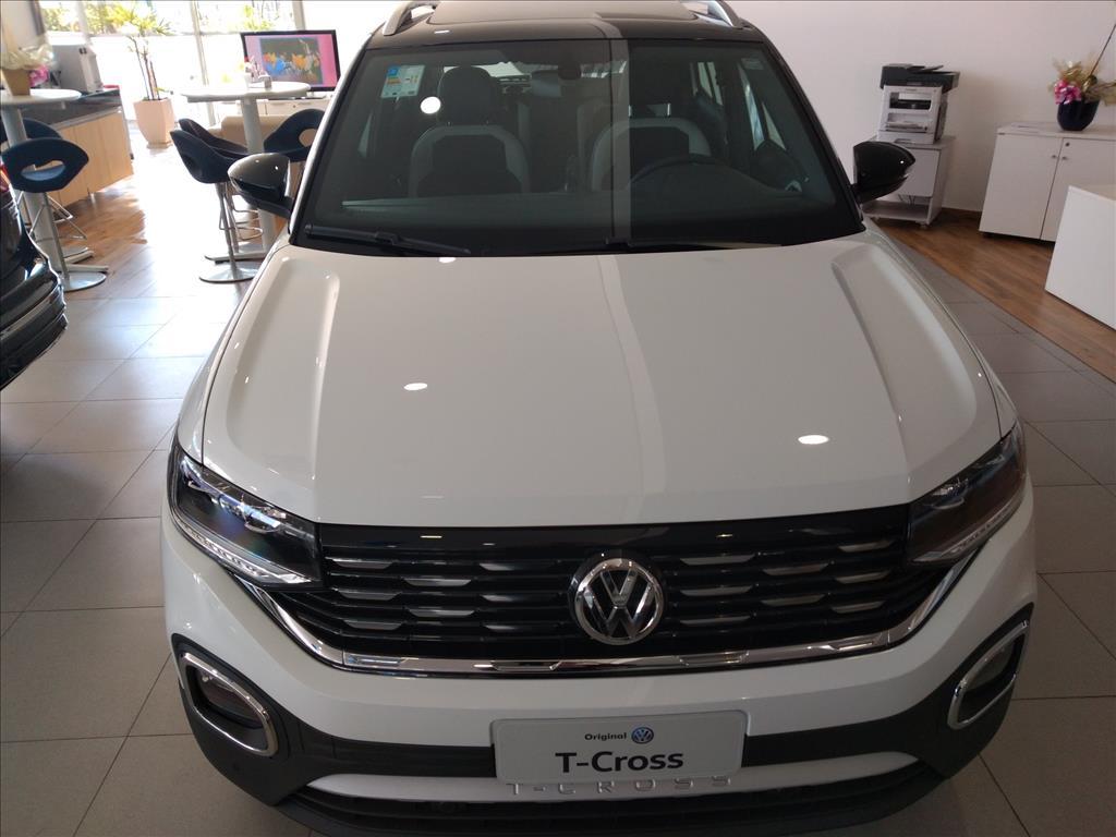 VOLKSWAGEN T-CROSS 2020 - 1.4 250 TSI TOTAL FLEX HIGHLINE AUTOMÁTICO