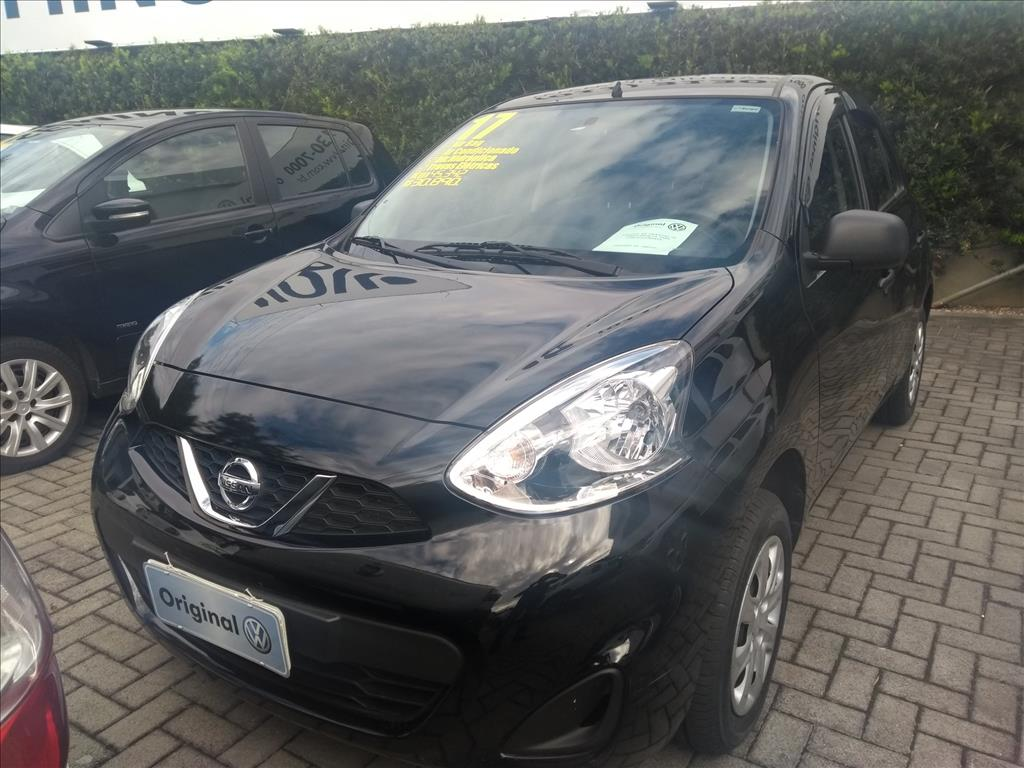 NISSAN MARCH 2017 - 1.0 CONFORTO 12V FLEX 4P MANUAL