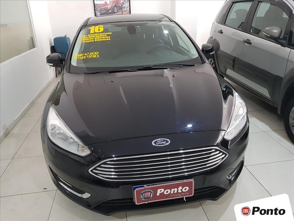 FORD FOCUS 2016 - 2.0 TITANIUM SEDAN 16V FLEX 4P POWERSHIFT