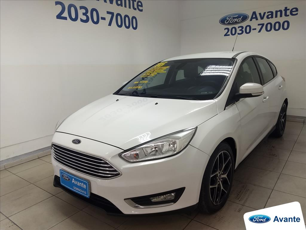 FORD FOCUS 2016 - 2.0 TITANIUM 16V FLEX 4P POWERSHIFT