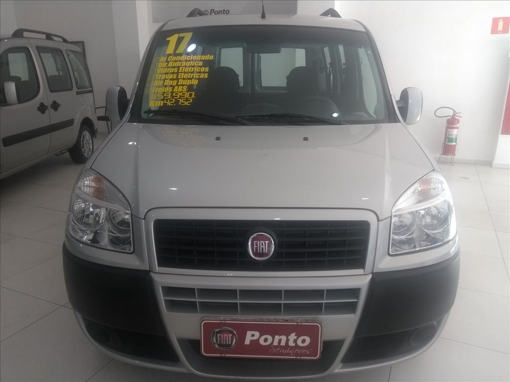 FIAT DOBLÒ 2017 - 1.8 MPI ESSENCE 7L 16V FLEX 4P MANUAL