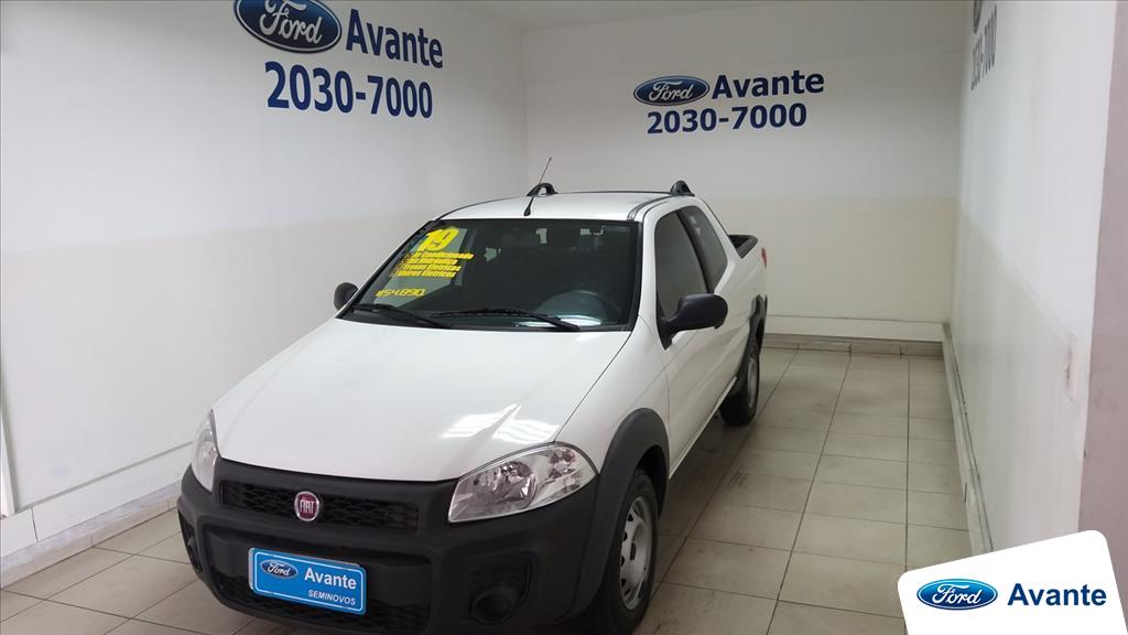 FIAT STRADA 2019 - 1.4 MPI HARD WORKING CD 8V FLEX 3P MANUAL